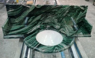 Plan vasque Vert de Laponie