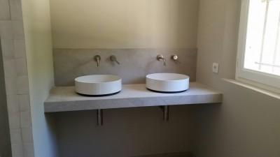 Double vasque en gris Titane