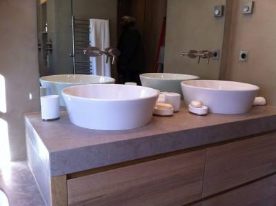 Plan double vasques Villebois