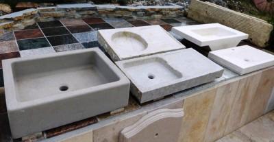 Vasques massives interieur exterieur